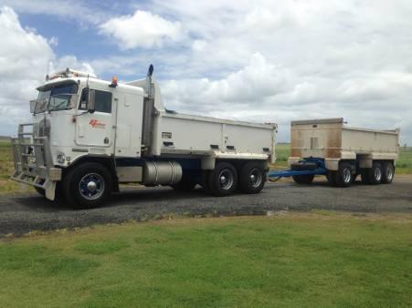 11 - 15 Tonne Tipper Truck