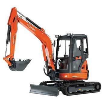 4 Tonne MIni Excavator for hire