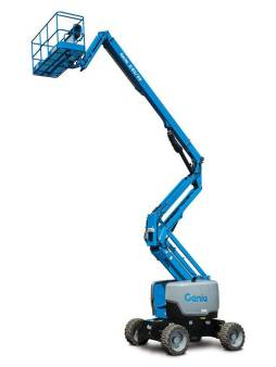 Knuckle Boom Lift/Cherry Picker (51 - 60ft) for hire
