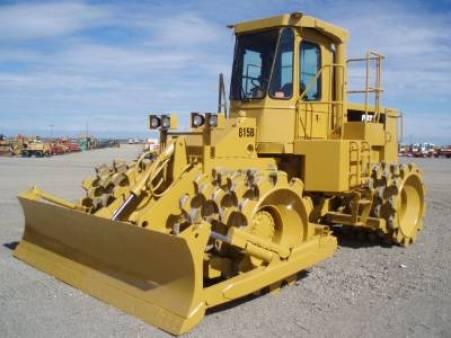 Caterpillar 815 Compactor Trimble GPS Ready for hire
