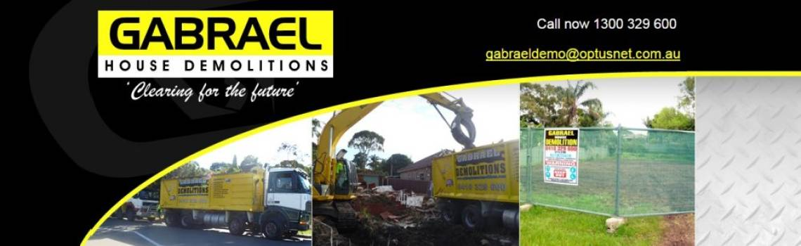 Gabrael House Demolition