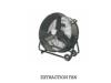 Extraction inline fan 600mm