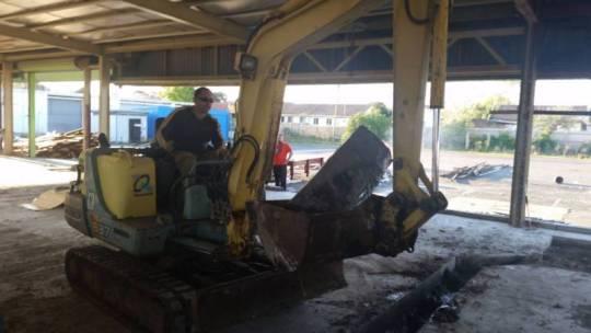 3.7 Tonne Mini Excavator for hire