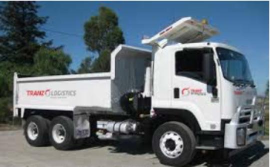 11 - 15 Tonne Tipper Truck (Single Body/Bogie) for hire