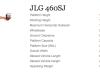 JLG 460SJ- Straight Boom