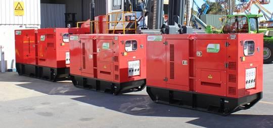 Generators Australia - Remote Series - Kubota 35kva for hire