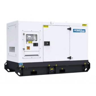 Generators Three Phase 30 kva Invertor diesel silenced for hire