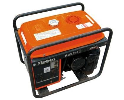 Generators  Single phase  2 kva for hire