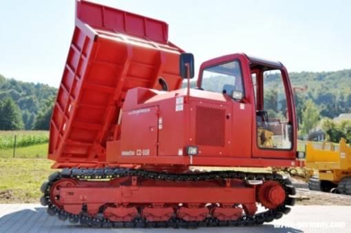 Dump Trucks 1.0 tonne crawler dumpers for hire