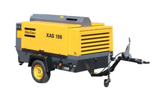 AIR COMPRESSOR Diesel 125 LPS 260 CFM for hire