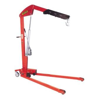 Abbey floor crane 500kg for hire