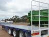 Freighter Drop Deck Tri Axle Semi Trailer