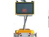 MESSAGE BOARD - LED SMALL (COLOUR / RADAR)