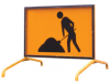 ROAD SIGN - BOXED EDGE