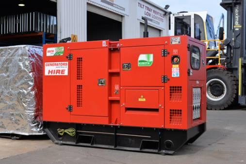 Generators Australia - Remote Series - Kubota 18kva for hire