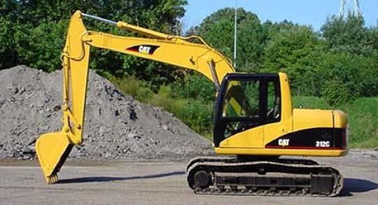 12 Tonne Excavator for hire