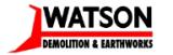 Watson Demolition & Earthworks