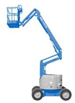 Knuckle Boom Lifts Diesel Rough Terrain 15.2m 50ft for hire