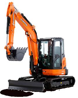 5.5 Tonne Mini Excavator for hire