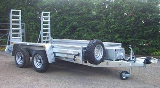 1 - 4.5 Tonne Plant Trailer for hire