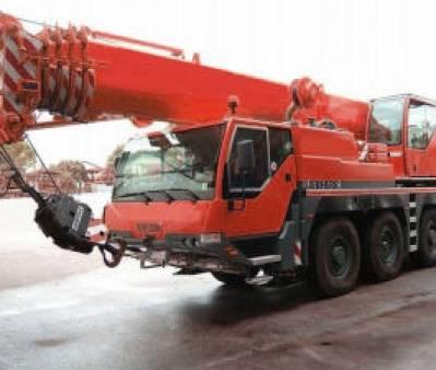 Liebherr LTM 1060-2 60 Tonne All Terrain Crane for hire