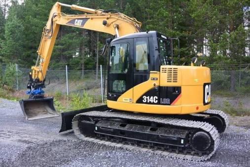 Caterpillar 314 14 Tonne Excavator for hire