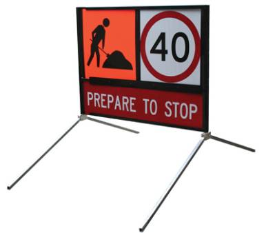 Multi Message Signs, Frames & Stands for hire