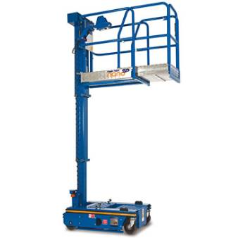 Vertical Personnel Lifts 3.6m 12.3ft for hire
