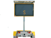 MESSAGE BOARD - LED SMALL (AMBER)