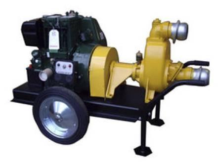 Diesel Self Priming Pump Dewatering for hire