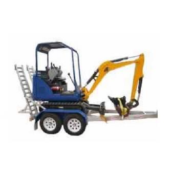 Mini Excavators for hire