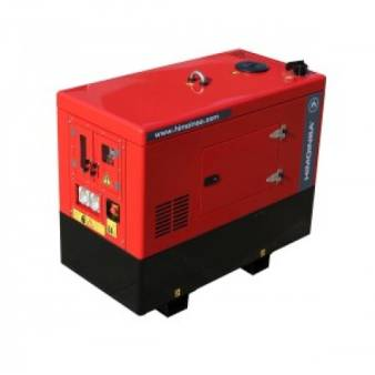 Generators Three Phase 20 kva Invertor diesel silenced for hire