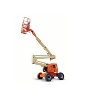 Electric Knuckle Boom Lift - JLG E450AJ for hire