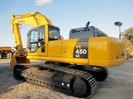 41 - 45 Tonne Excavator for hire