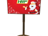 LCD Rotatable Advertising Display 46 inch