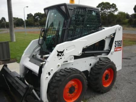 Bobcat S160 Skid Steer for hire