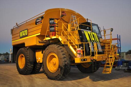Caterpillar 777F 70,000 Litre Water Truck for hire