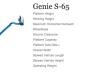 Genie S-65- Straight Boom