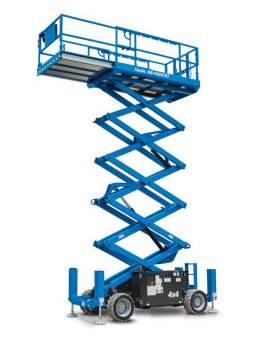 Scissor Lift All Tterrain 33Ft for hire