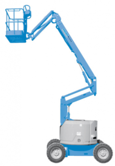 Knuckle Boom Lifts Diesel Rough Terrain 13.7m 45ft for hire