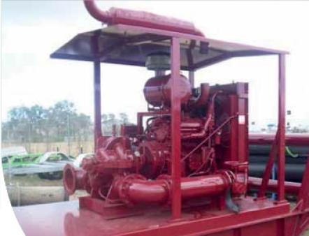 Diesel (Self Priming) Pump HH220 for hire
