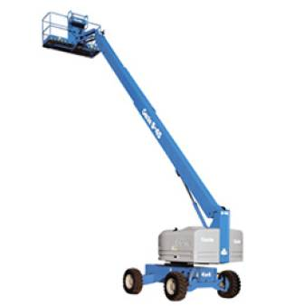 Straight Boom Lifts Diesel Rough Terrain 24.3m 86ft for hire