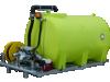 WATER TANK & PUMP 4400L SKID