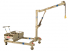 FLOOR CRANE - 300KG COUNTER WEIGHTED