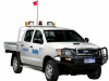 4WD Dual Cab, tray Ute (Hilux or similar) Manual