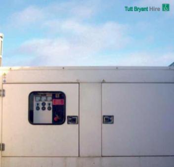 Generators Three Phase 100 kva Invertor - diesel silenced for hire